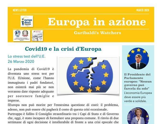 Il nostro contributo alla newsletter di Europe Direct Trapani