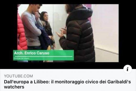 """""""Dall'Europa a Lilibeo: il monitoraggio civico dei Garibaldi's Watchers"""""""