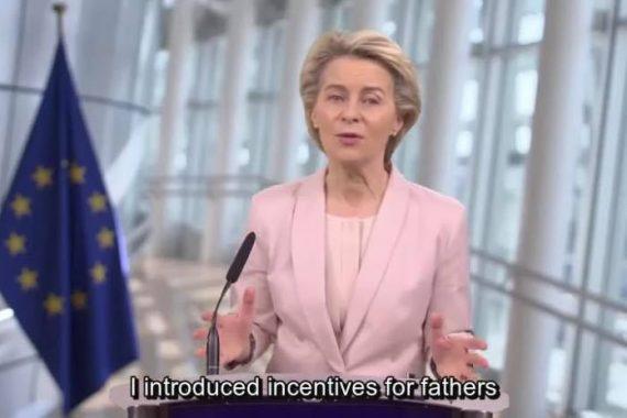 Ursula von der Leyen al Women's Forum Global Meeting 2020
